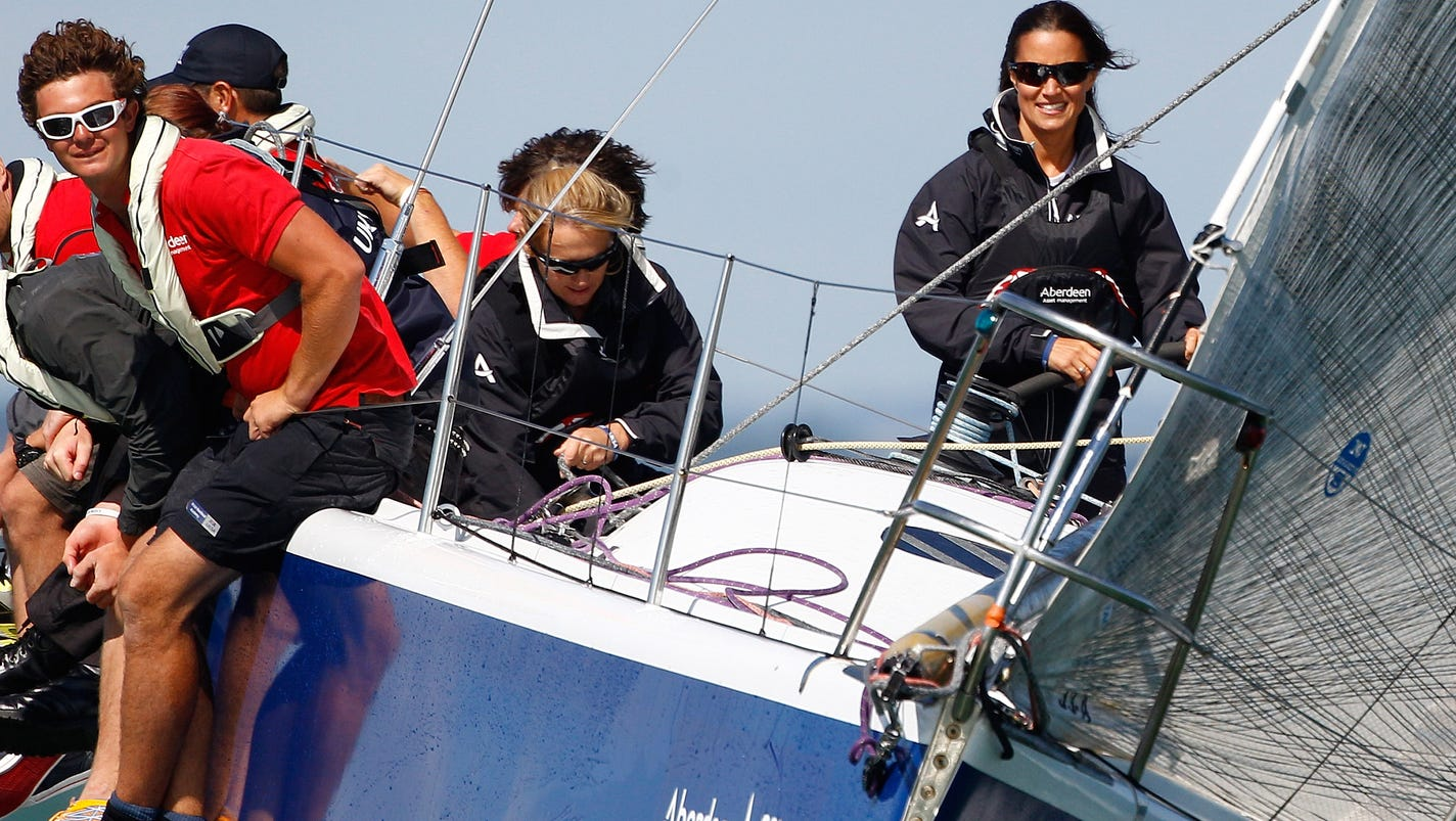 Pippa Middleton adds yacht racing to her resume
