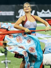Blue Stars performs Friday, August 8, at the 2014 DCI World Championship Semifinals at Lucas Oil Stadium in Indianapolis, IN.