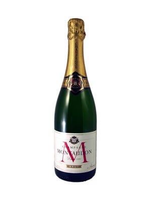 A bottle of Montaudon Brut NV.