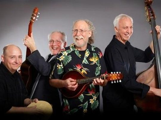 The Bernstein Bard Quartet performs Saturday during the tango and swing dance party at Unison Arts Center, New Paltz.