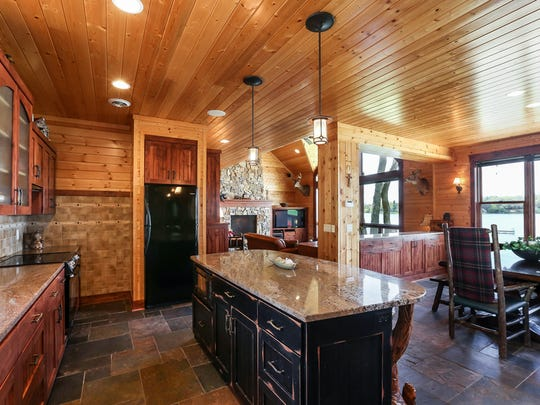 The builder created this home for himself in 2006. It's at 4464-115th Ave in Palmer Township, near Clear Lake.