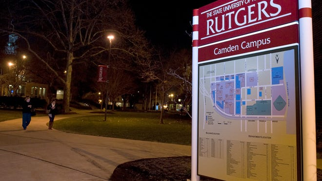 At Rutgers, first-year students living in residence halls must spend a minimum $2,293 each semester, or $4,586 for a full academic year, on meal plans, with no credits or refunds for unused meals.