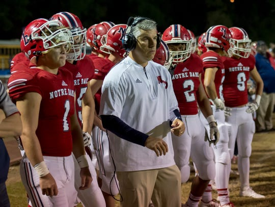 Notre Dame defensive coordinator Jimmy McCleary is expecting to see an improved version of Catholic High in Thursday's rematch after shutting out the Panthers 37-0 in week four.