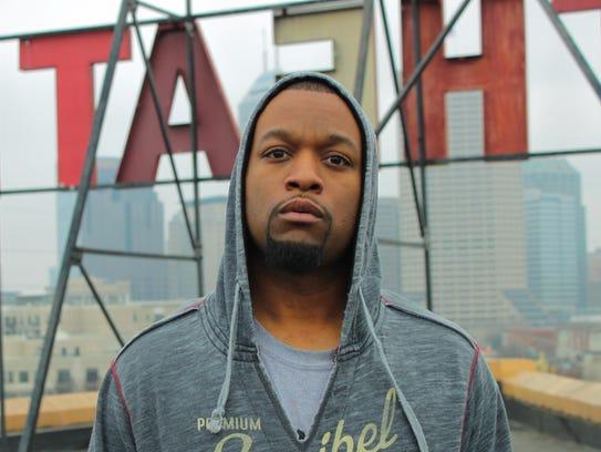 Too Black will speak Feb. 23 at the Indianapolis Artsgarden.