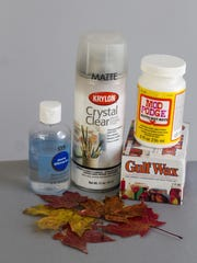 There are several products for preserving autumn leaves. Though the process isn't difficult, it can be messy, depending on which technique you use.