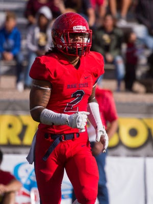 Dixie State football takes on Fort Lewis Saturday, Nov. 12, 2016.