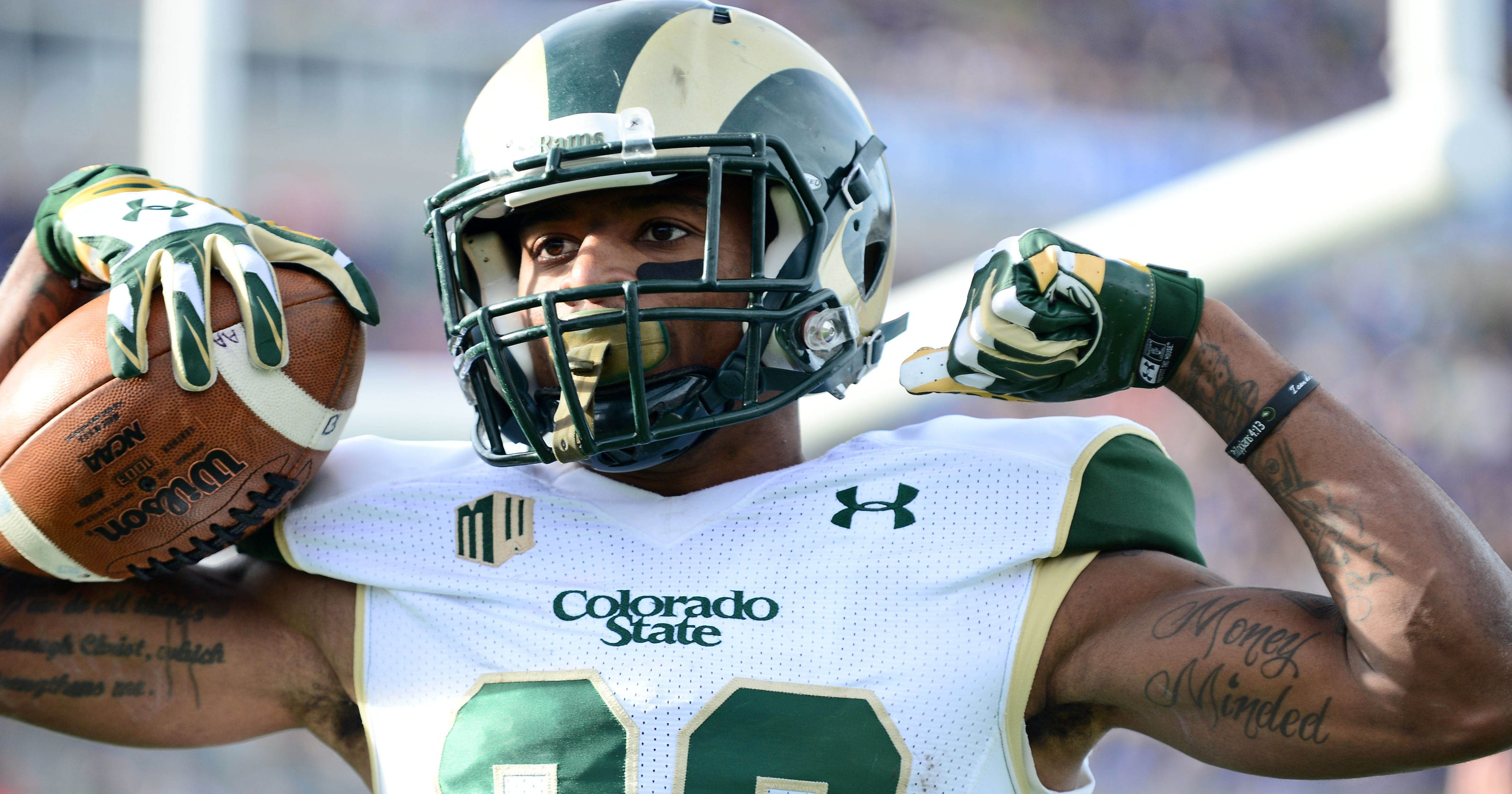 e071258ac Higgins tops list of CSU s NFL draft prospects