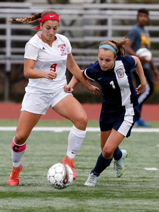 9e2270d9e Girls Soccer  Edison defeats Sayreville for third time