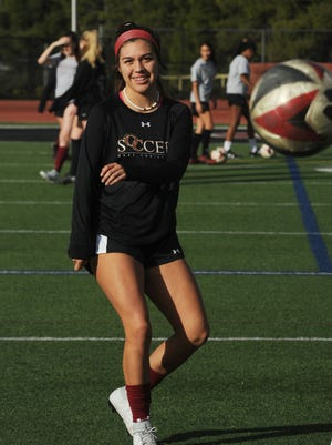 Senior Addison Marusich is one of the top returning players for the Oaks Christian girls soccer team.