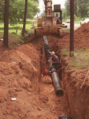 The city of Jackson says an insurer offering policies to cover residential water pipe repairs is not connected to or promoted by the city.