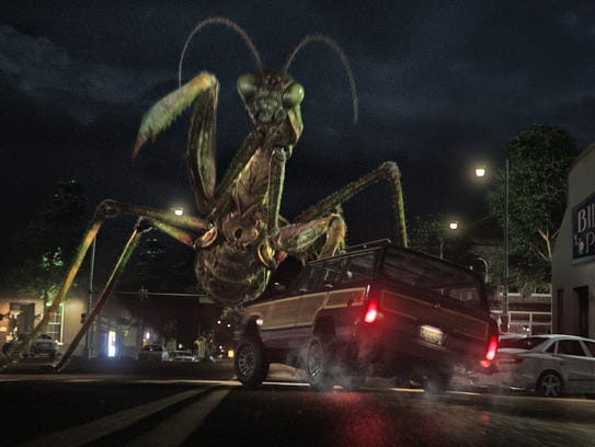 The creatures from R.L. Stine's  (Jack Black) Goosebumps