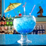 Fans of blue drinks and mermaids won't be disappointed at the Sip 'N Dip.