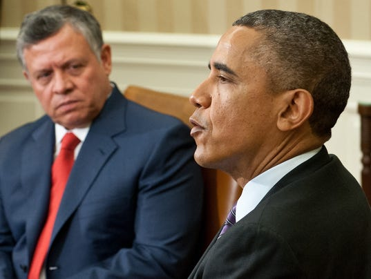 Obama meets with King Abdullah II
