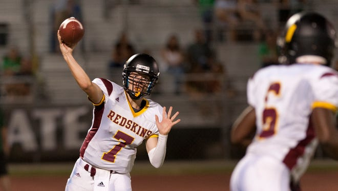 Tulare Union's Josh Guererro helps lead Tulare Union into a key Division II game against Kingsburg.