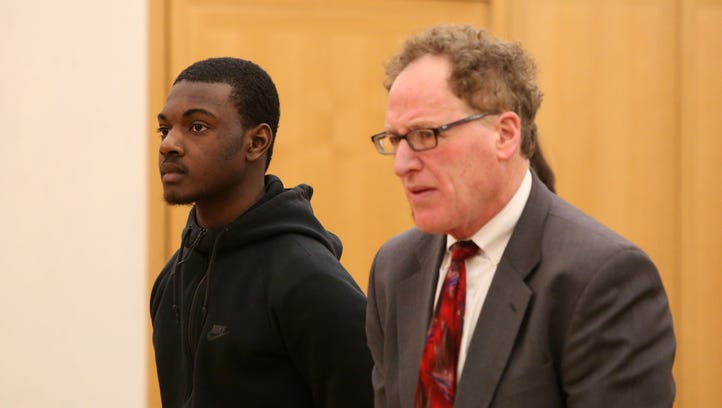 Nashaun Hunter, 17, of the Bronx, appears in county