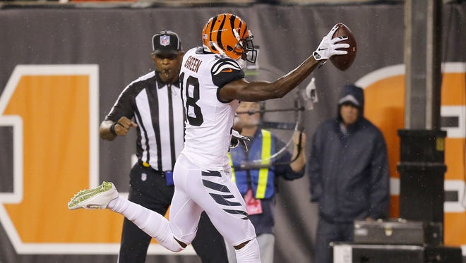 Cincinnati Bengals wide receiver A.J. Green is The Enquirer's choice for the team's 2016 MVP.