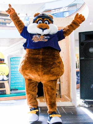 Stomper, the Swamp Rabbits' mascot, will welcome fans back at the team's season opener on Oct. 13.