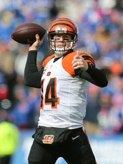 Bengals QB Andy Dalton was 22-33 for 243 yards and