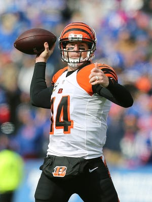 Bengals QB Andy Dalton was 22-33 for 243 yards and 3 touchdowns in a 34-21 win.