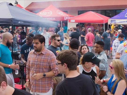 Some 18 breweries from the Tallahassee area and around the country will be on hand pouring their beers during Saturday's 4th Annual Tallahassee Burgers and Brews Festival at the Brass Tap Midtown.