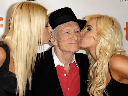 EPA (FILE) CANADA HUGH HEFNER OBIT ACE CINEMA CAN ON