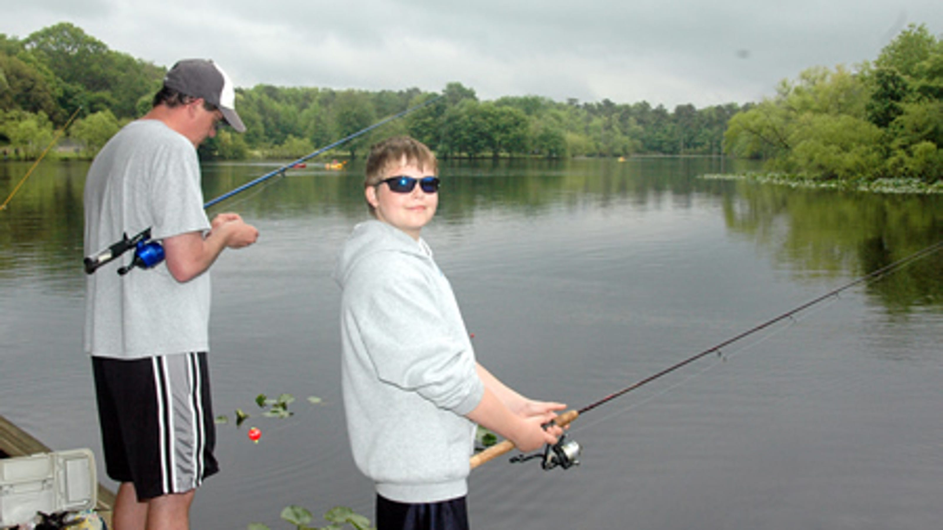 Free fishing days in new jersey father 39 s day weekend for Free fishing day