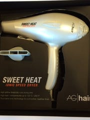 Sweet Heat hand-held hair dryers do not have an immersion protection device, which guards against electrocution or shock if the dryer is immersed in water.