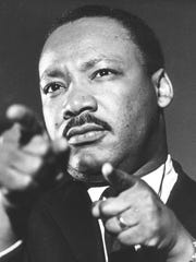 The Rev. Martin Luther King Jr. visited the Lansing region a few times.