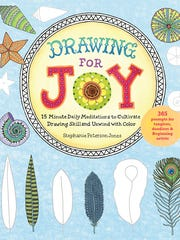 """""""Drawing for Joy"""" by Asheville author Stephanie Peterson Jones"""