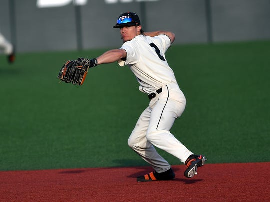 OSU shortstop Cadyn Grenier was the No. 37 overall