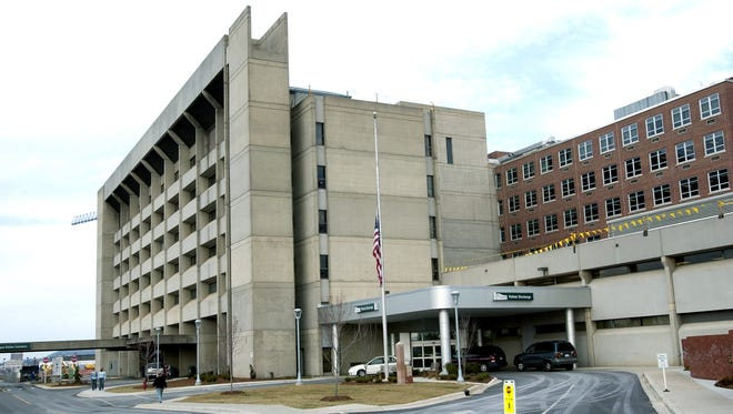 Mission Hospital is seen in this file photo.