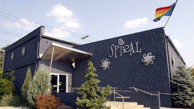 Spiral Video and Dance Bar, 1247 Center St., Lansing,  Jan. 10, 2004.