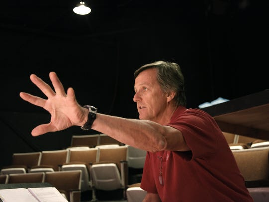 "Bill Lelbach (seen here directing ""Separation Rapid"""