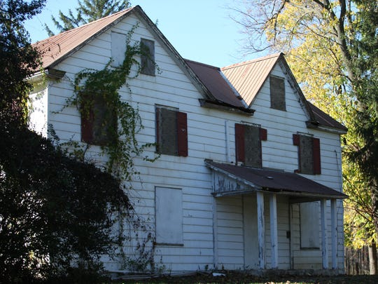 The Jester Farmhouse in Brandywine Hundred.  A non-profit group hopes to raise the funds to convert the building into an arthouse.