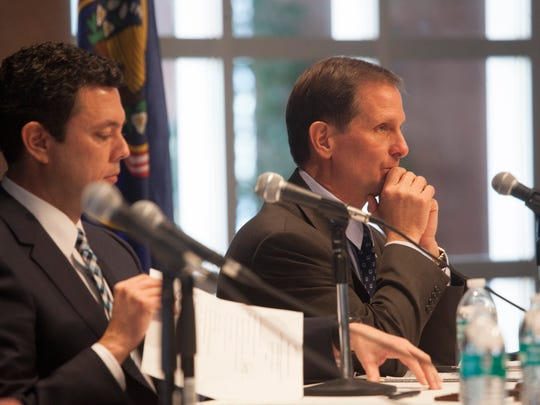 Rep. Chris Stewart hears concerns over the use and control of BLM lands at the House Natural Resources committee Hearing Friday, Jan. 22, 2016.