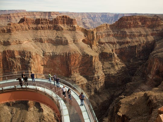 The Skywalk is a top draw at the West Rim, but access