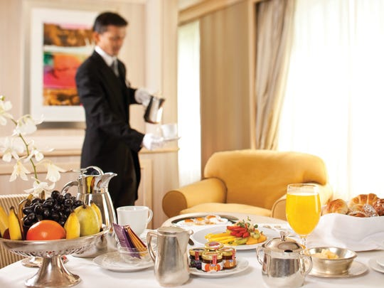 On the Silver Spirit, butlers are ready to take care of all your needs.