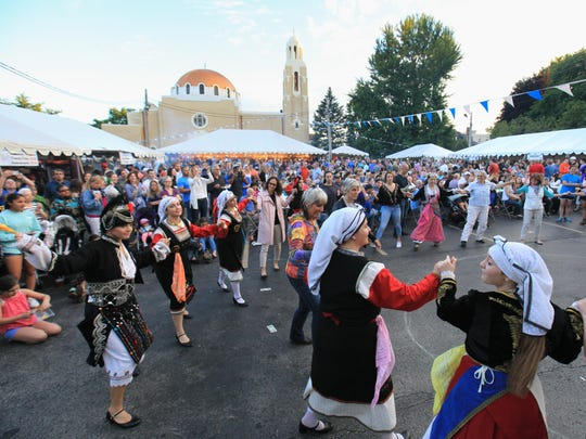Terpsichorean Dancers of Holy Trinity wil perform again this year at the Holy Trinity Greek Festival in Wilmington.