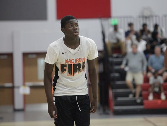 Class of 2021 point guard Ahamad Bynum is going to