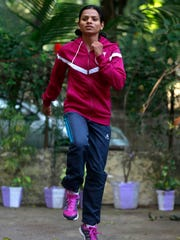 Indian athlete Dutee Chand qualified for the Olympics