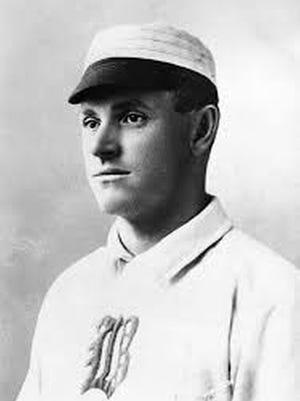 Sliding Billy Hamilton concluded his Hall of Fame playing career with Boston of the National League in 1901.