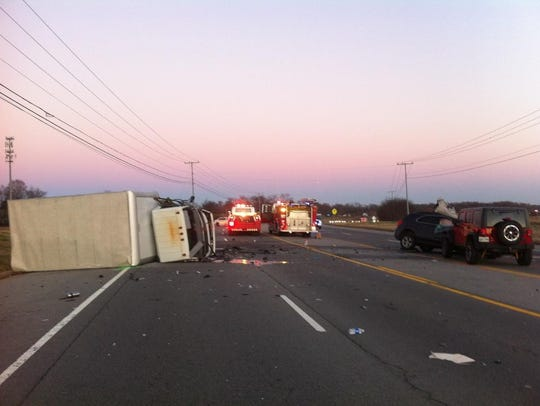 The late afternoon Dec. 4, 2015 crash on Tiny Town
