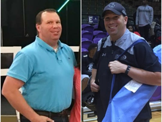 Shreveport's Casey Collins, while also on an eating plan, lost roughly 30 pounds during the Fantasy FitBit competition.