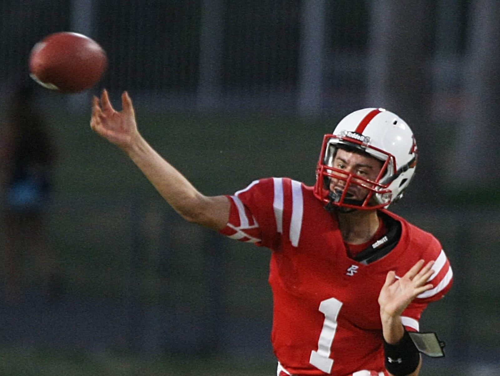 Palm Springs quarterback William Olvera is one player in the valley who has benefited from private coaching.