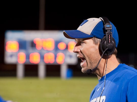 Wynford's Gabe Helbert led the Royals to the first Northern 10 football championship and to a regional runner-up finish. He shared News Journal Coach of the Year honors with Loudonville's Justin Todd.