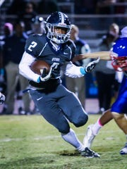 Siegel running back Marcus Wilson runs for a big gain