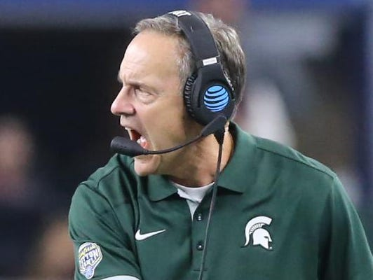 Michigan State coach Mark Dantonio has a history of getting linemen commits late in the recruiting process.