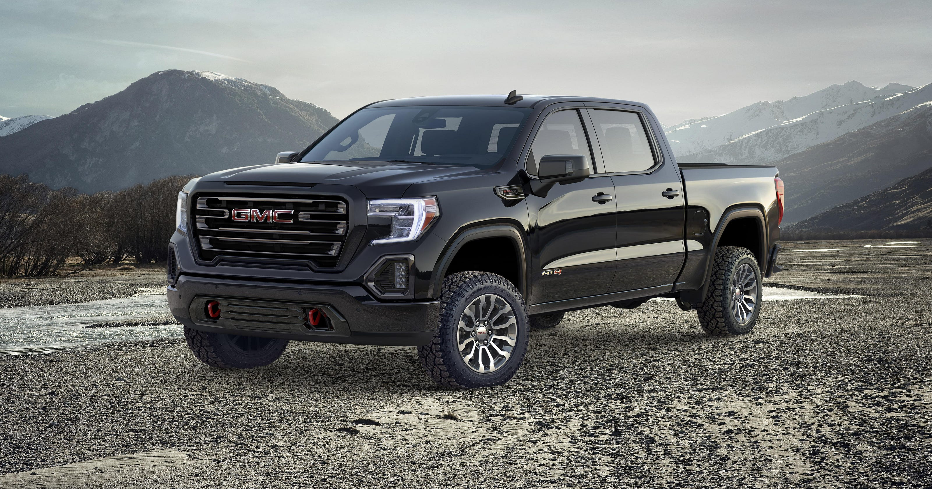 Gmc Debuts First Off Road Package On 2019 Sierra At4 At