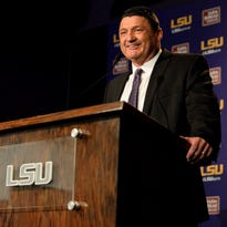 New LSU assistant coach Ed Orgeron will be one of the speakers at tonight's LSU Tiger Tour stop in Lafayette.