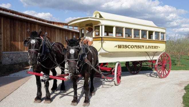 FILE - The Wade House's new Omnibus as seen Thursday May 22, 2014 in Greenbush.